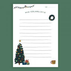 Kerst Verlanglijstje