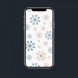 Wonderzoet Wallpaper 'Winter Wonderland' – Mobiel