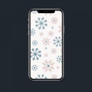Wonderzoet Wallpaper 'Winter Wonderland' – Mobiel