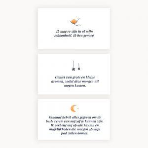 40 Posiliever kaarten – Slaap lekker